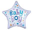 """19""""PKG BABY BOY STAR"""