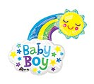 "30""PKG BABY BOY BRIGHT HAPPY SUN"