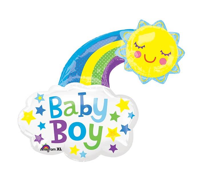"30""PKG BABY BOY BRIGHT HAPPY SUN"