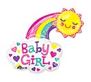 "30""PKG BABY GIRL BRIGHT HAPPY SUN"