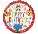 "17""PKG HBD CIRCUS THEME BIRTHDAY"