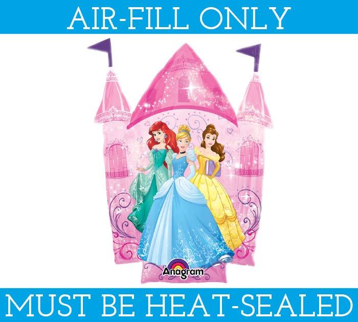 "13""FLAT MULTI-PRINCESS CASTLE"