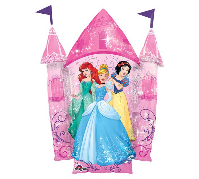 "13""INFLATED MULTI-PRINCESS CASTLE"