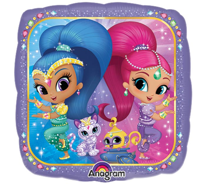 "9""INFLATED SHIMMER  SHINE"