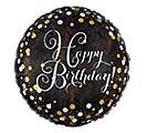 """18""""PKG SPARKLING HAPPY BIRTHDAY"""