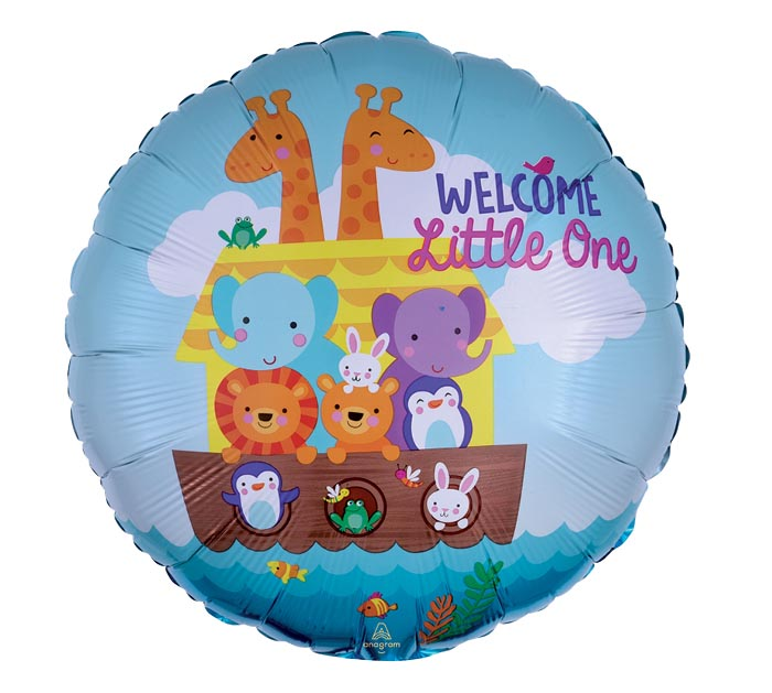 "17""PKG BABY SHOWER NOAH'S ARK"