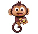 "36""PKG HAPPY MONKEY SHAPE"
