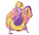 "11""INFLATED RAPUNZEL MINI SHAPE"