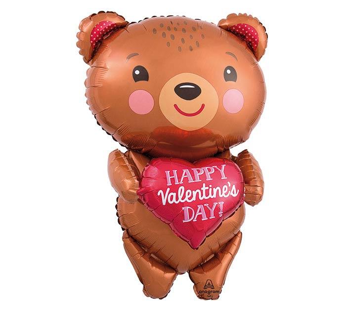 """28""""PKG HVD BEAR WITH HEART"""