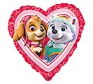 "17""PKG LUV PAW PATROL LOVE GIRL"