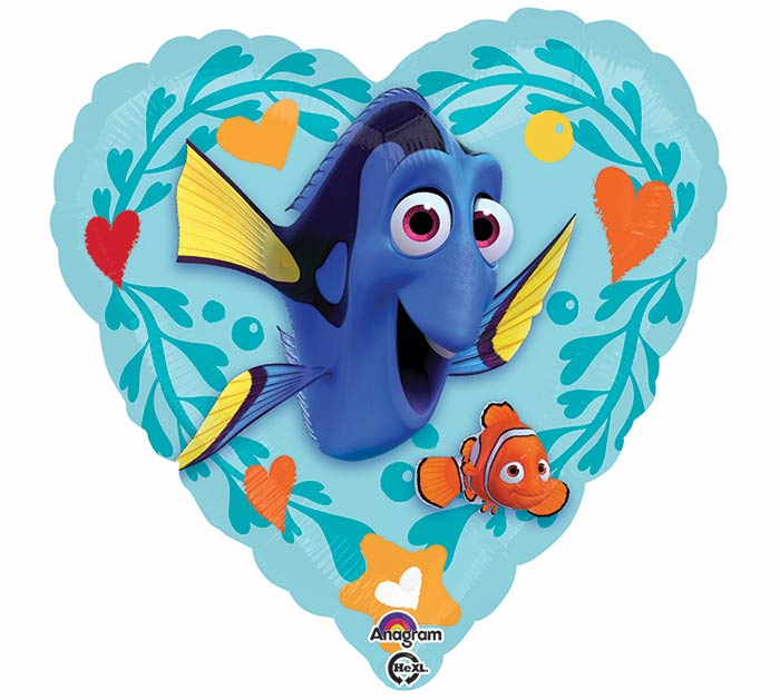 "17""PKG LUV FINDING DORY LOVE"