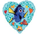 "9""INFLATED LUV FINDING DORY HEART"