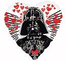 "17""PKG LUV STAR WARS LOVE"