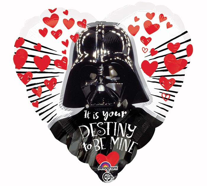 "17""PKG LUV STAR WARS LOVE"