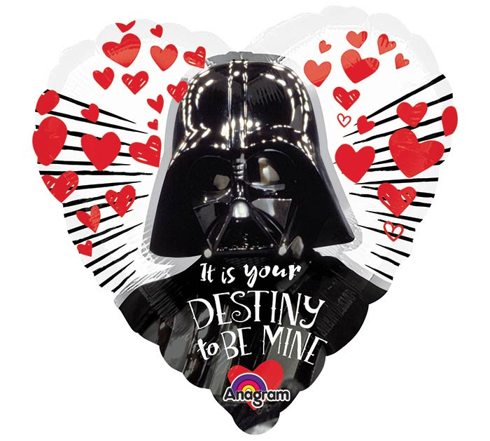 "9""INFLATED LUV STAR WARS LOVE"