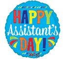 "17""SEC HAPPY ASSISTANT'S DAY BLUE"