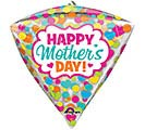 "17""PKG HMD DIAMONDZ MOTHER'S DAY DOTS"