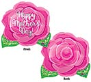 "18""HMD PINK ROSE JUNIOR SHAPE"