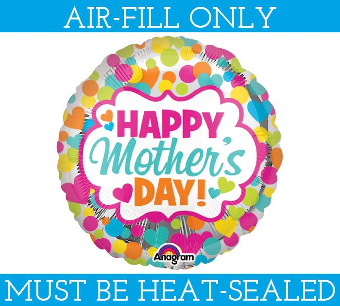 """4""""MOTHER'S DAY BALLOON FILL WITH AIR"""