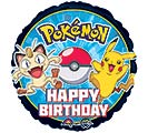 "17""PKG HBD POKEMON"