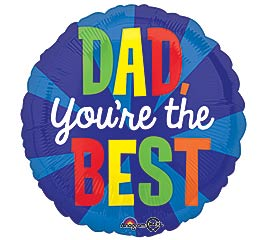 "17""DAD YOU'RE THE BEST ONLY 4 AVAIL"