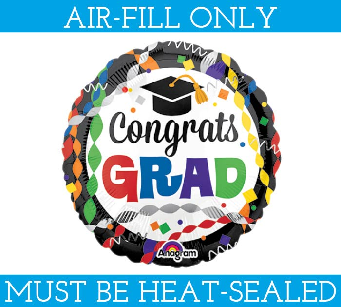 """9"""" GRADUATION MUST FILL WITH AIR ONLY"""