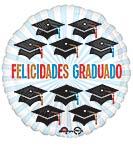 """17""""SPA FELICIDADES GRAD CAPS"""