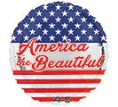 "17""PAT AMERICA THE BEAUTIFUL"