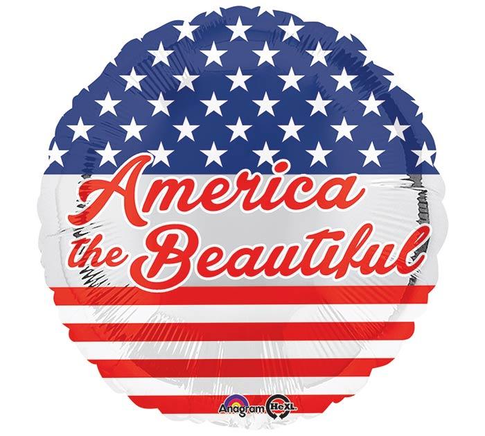 """17""""PAT AMERICA THE BEAUTIFUL"""