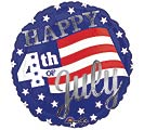 "17""PAT HAPPY 4TH STARS  STRIPES"