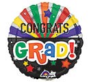 "4""FLAT GRA CONGRATS GRAD CELEBRATION"