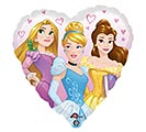 "17""PKG CHA PRINCESS DREAM BIG HEART"