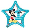 "19""PKG HBD MICKEY 1ST BIRTHDAY STAR"