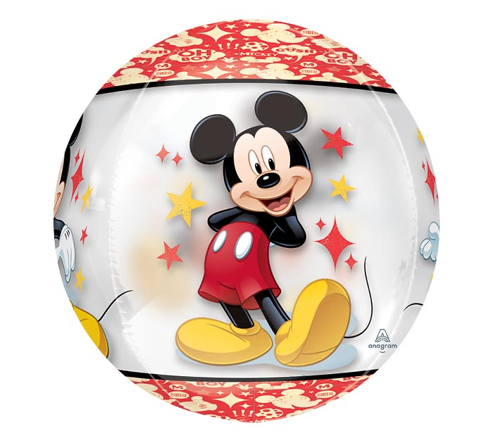 "16""PKG CHA MICKEY MOUSE ORBZ"