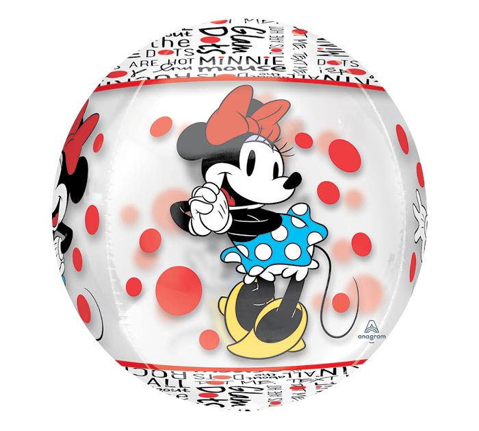 "16""PKG CHA MINNIE MOUSE ORBZ"
