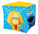 "15""PKG CHA CUBEZ SESAME STREET FUN 2nd Alternate Image"