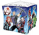"15"" PKG AVENGERS CUBEZ BALLOON 1st Alternate Image"