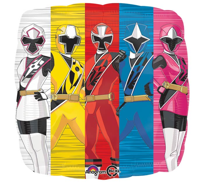 "17""PKG CHA POWER RANGERS NINJA STEEL"