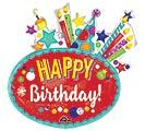 """30""""PKG HBD FESTIVE BIRTHDAY"""