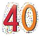 "24""PKG HBD RAINBOW 40"