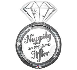 "27""PKG WED HAPPILY EVER AFTER RING"