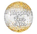 "16""PKG WEDDING CONFETTI ORBZ CLEAR 2nd Alternate Image"