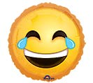 "17""PKG SMI LAUGHING EMOTICON"