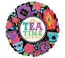 "17""PKG MAD TEA PARTY TEA TIME"