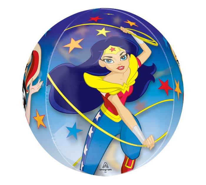 "16""PKG ORBZ DC SUPERHERO GIRLS"
