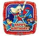 "17""PKG HBD DC SUPER HERO GIRLS"