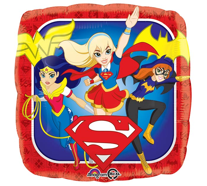 "17""PKG CHA DC SUPER HERO GIRLS"