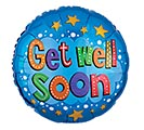 "17""PKG GWS GET WELL SOON STARS AND BRIGH"