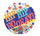 """17""""PKG CON IT'S YOUR DAY HIP HIP HOORAY 1st Alternate Image"""