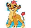 """14""""INFLATED CHA LION GUARD"""
